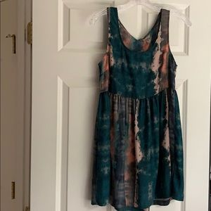 Urban Outfitters Tie Dye Babydoll Dress